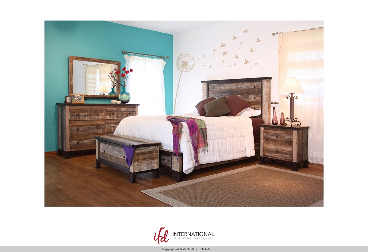 Ifd 966 Queen Bed Frame Harrington Home Furniture