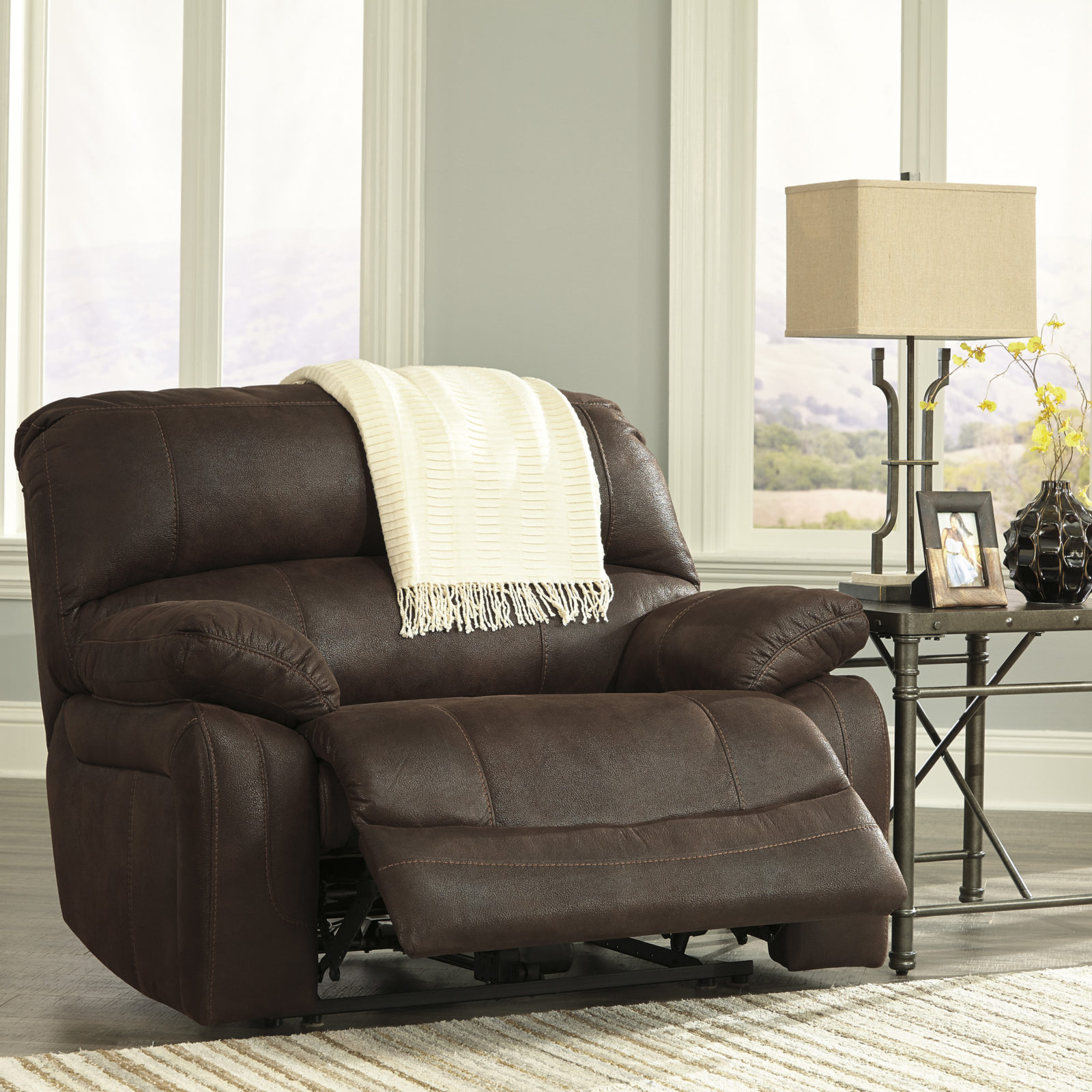 Signature Design Zavier Wide Recliner Harrington Home Furniture