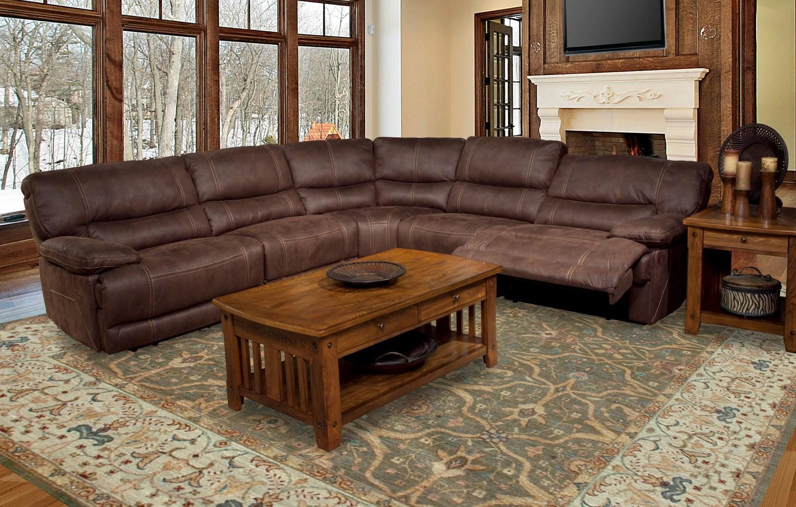 Parker House Pegasus Reclining Sectional Harrington Home Furniture
