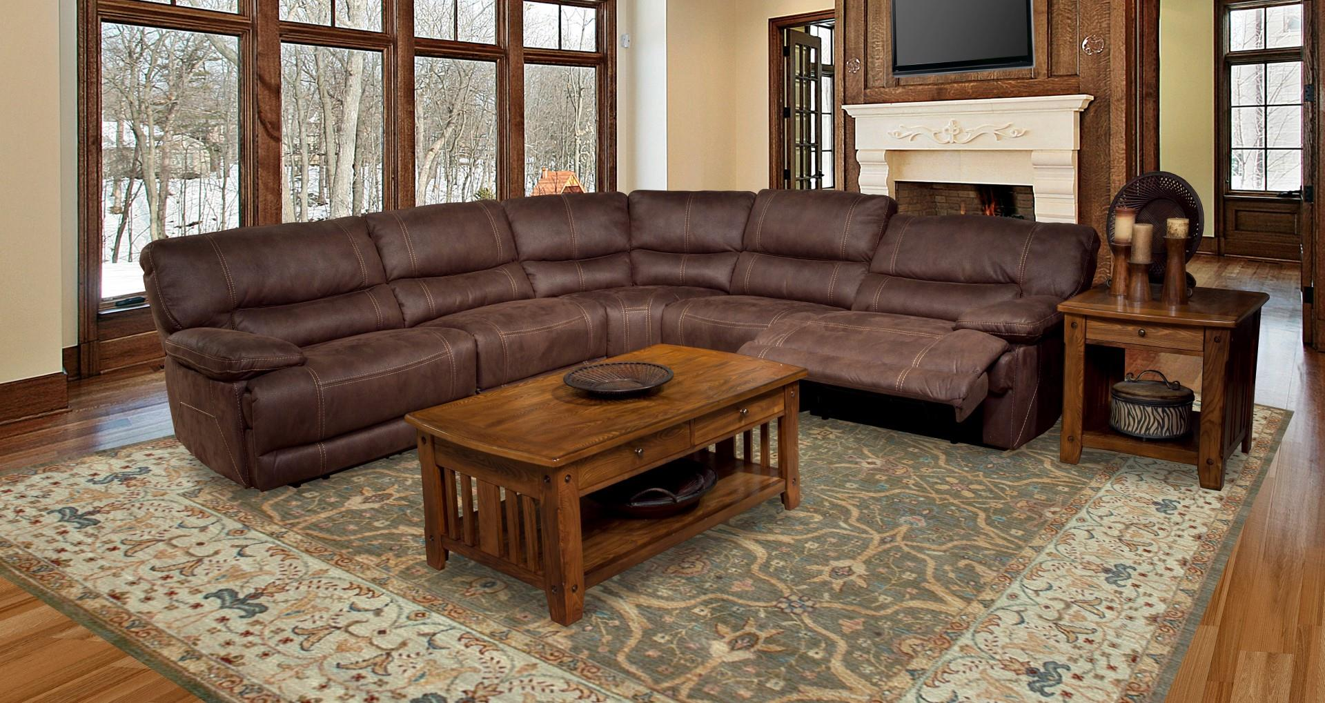 Parker House Pegasus Reclining Sectional