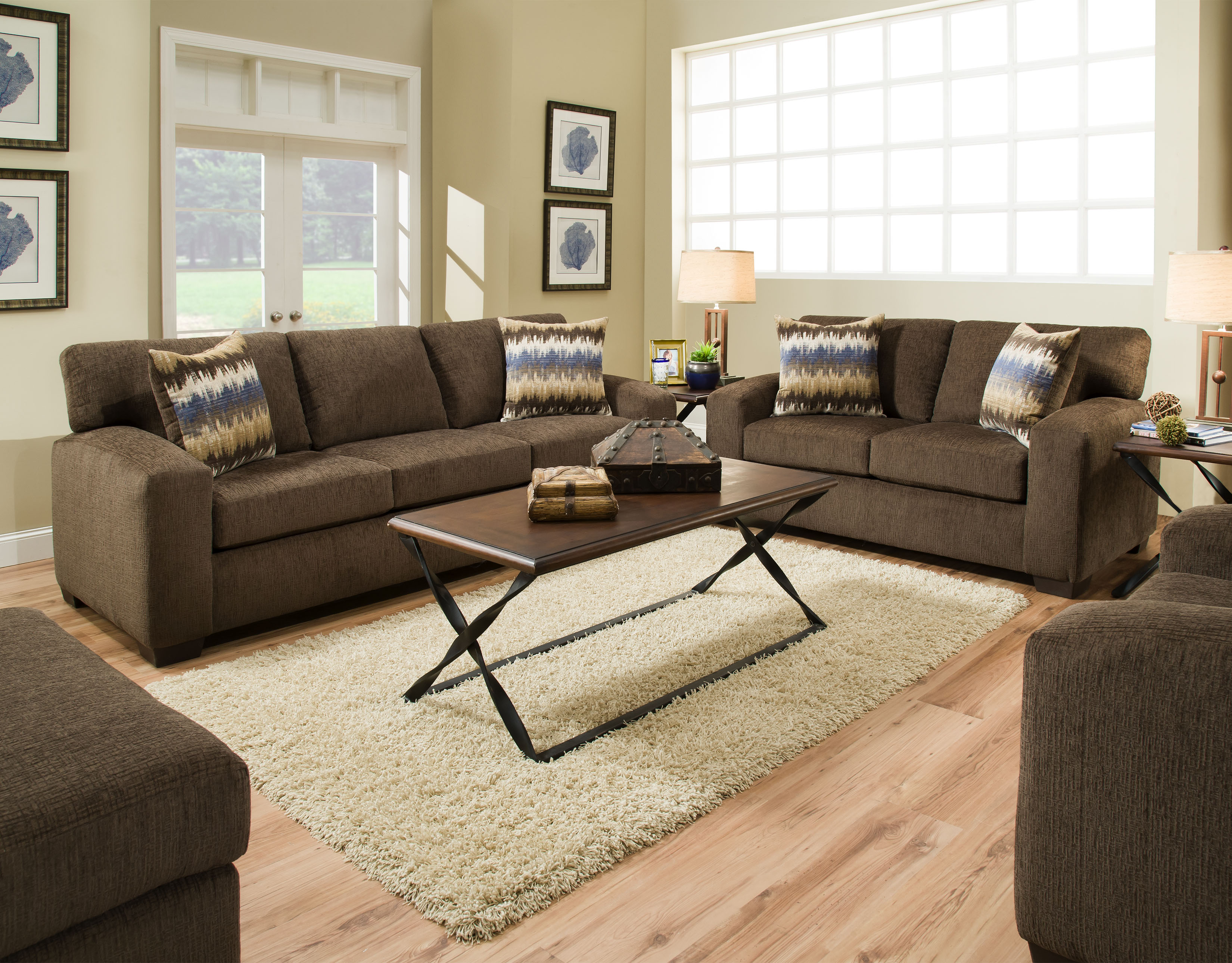 Chelsea Chocolate Loveseat Harrington Home Furniture