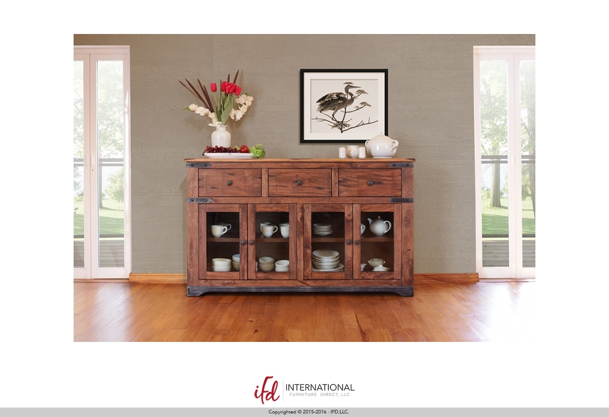 Ifd 866 Console Harrington Home Furniture