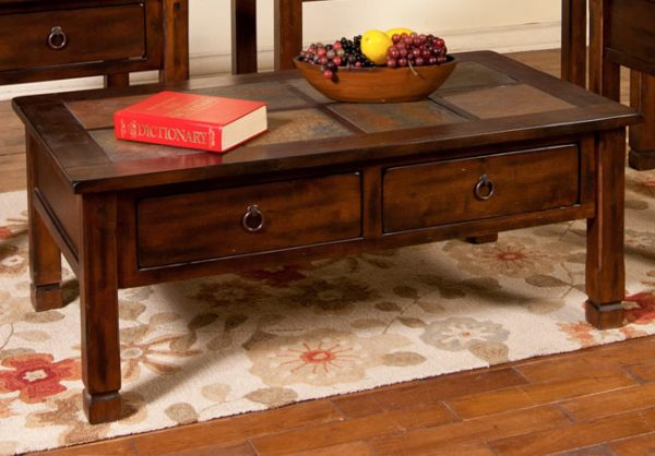 Sunny Designs Santa Fe Coffee Table Harrington Home Furniture