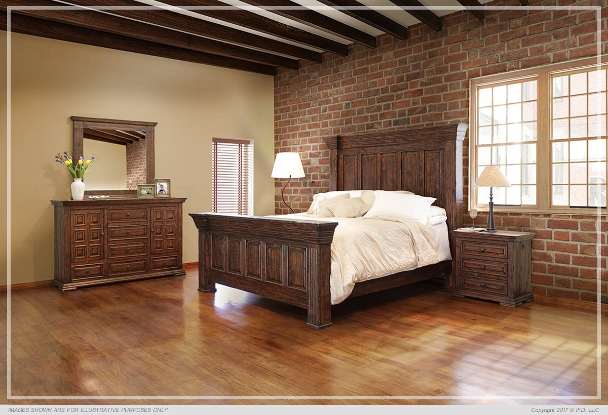 Ifd 1020 Tera Queen Bedframe Harrington Home Furniture