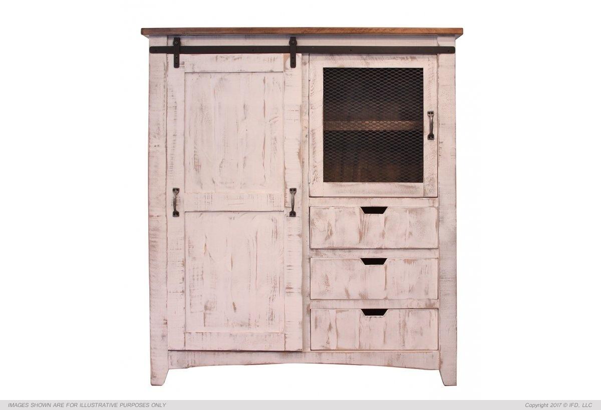 Ifd 360 pueblo white gentleman 39 s chest harrington home for Furniture 360