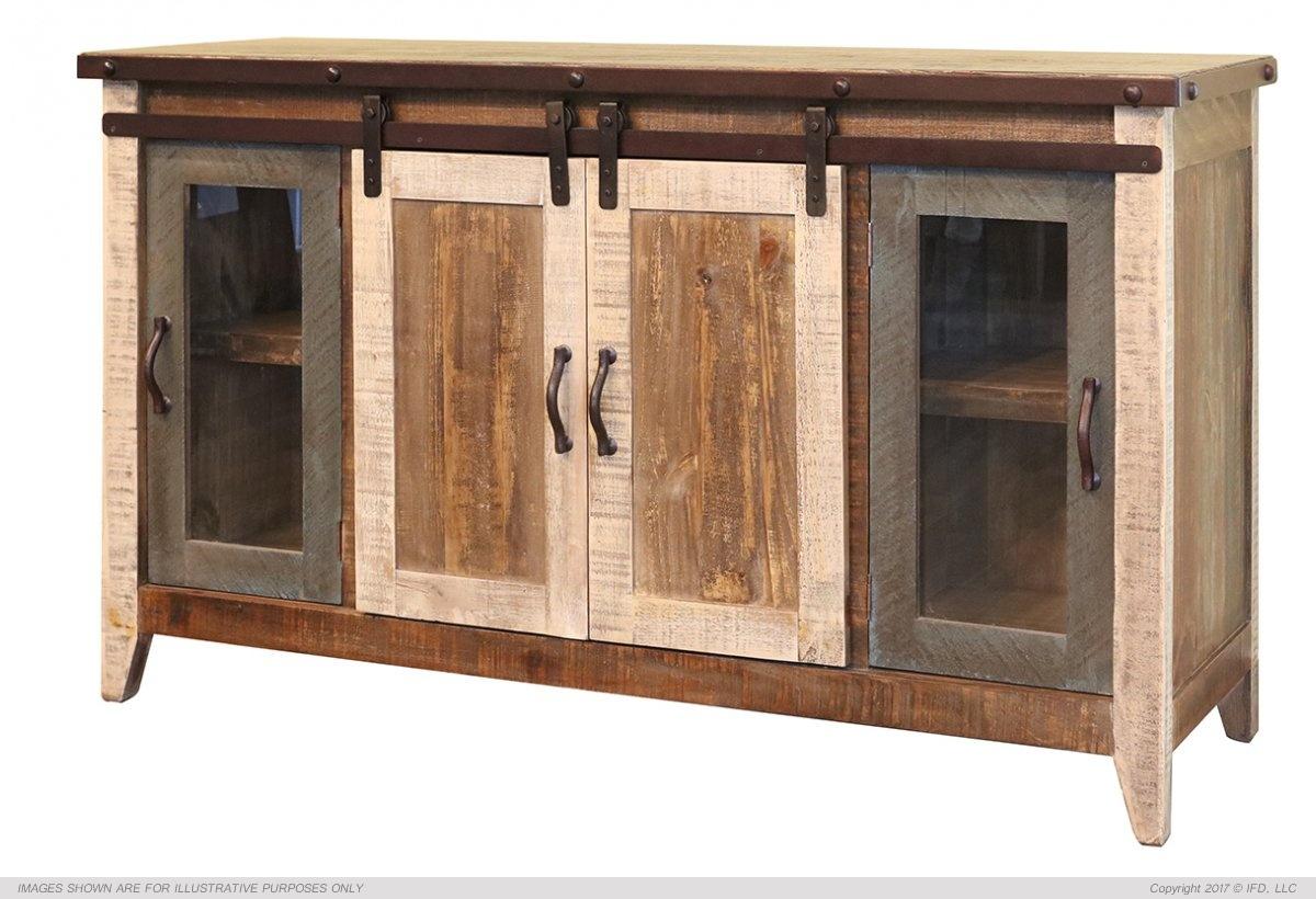 Ifd 962 Antique 60 Tv Stand Harrington Home Furniture