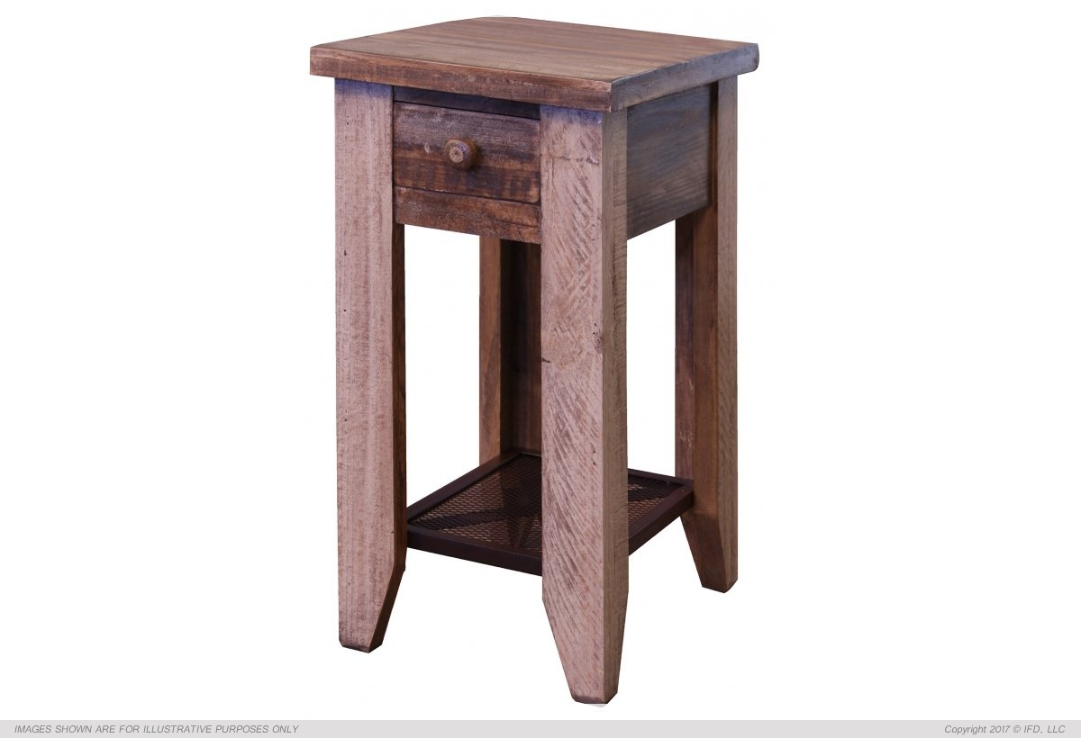 Ifd 963 Antique Chair Side End Table Harrington Home Furniture
