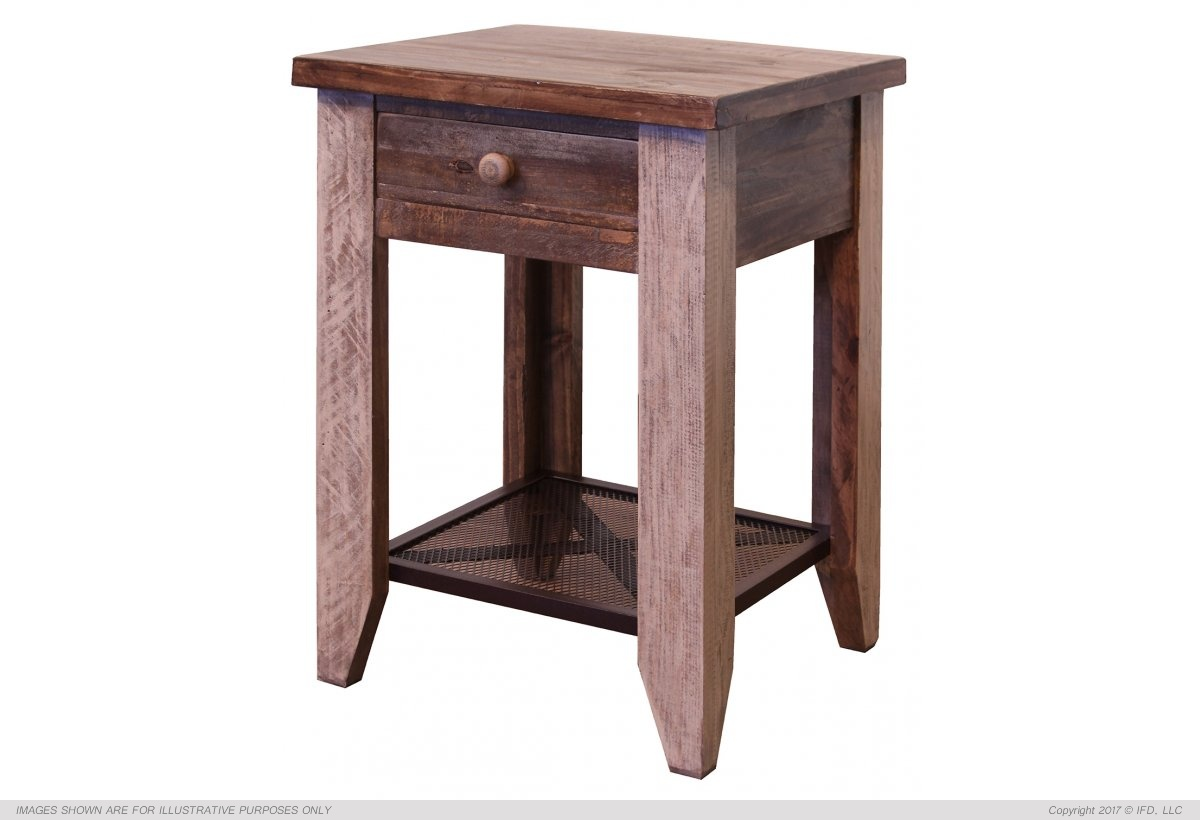 Ifd 963 Antique End Table Harrington Home Furniture