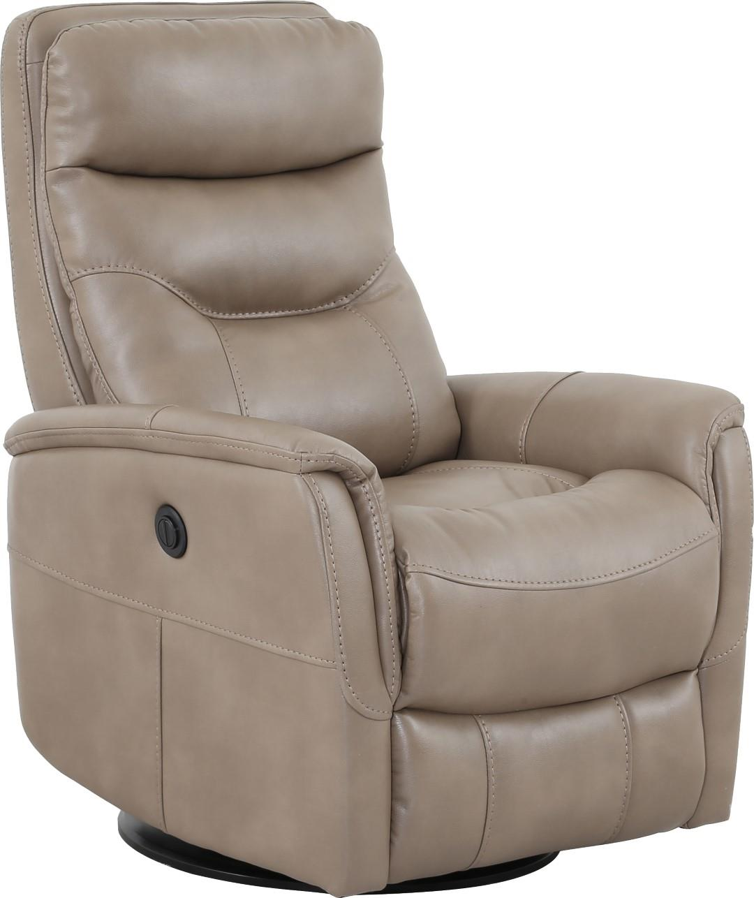 Power Ergo Recliner W Adjustable Headrest Taupe