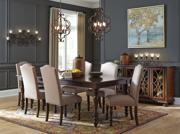 Signature Design Baxenburg Dining Set (7 Pieces)
