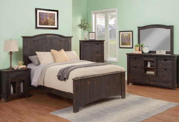 Superb El Paso Rustic Bedroom Set Harrington Home Furniture Download Free Architecture Designs Rallybritishbridgeorg