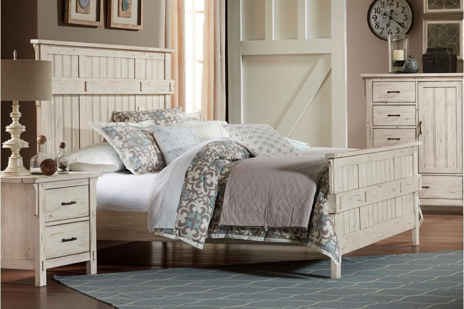Terrace 4pc Queen Bedroom Set Harrington Home Furniture